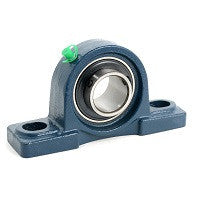 UCPK208-40MM | UCPK STANDARD DUTY SET SCREW TYPE, LOW CENTER HEIGHT | Ball Bearings | Belts