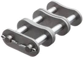 Stainless Steel Cottered Connector Link 100-2SS  | 100-2R DOUBLE STRAND STAINLESS STEEL | Ball Bearings | Belts