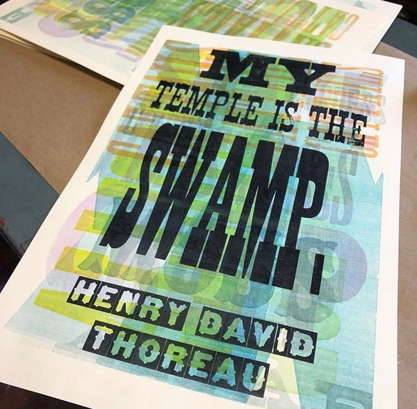 """My Temple is the Swamp"" Print"