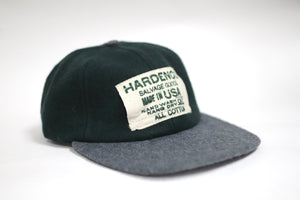 Adjustable Wool Bi-Color Cap