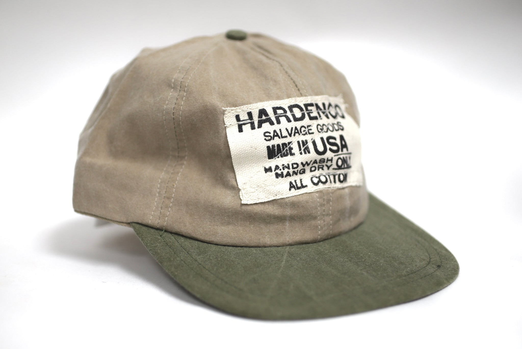 "Adjustable Bi-Color Cotton ""Dad"" Cap"