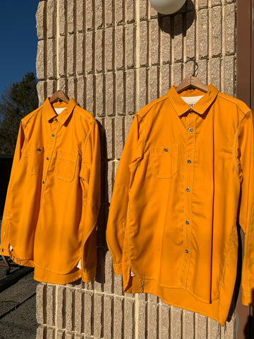 Wool-Blend 'Uniform Yellow' Workshirts
