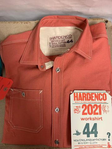 Red Tag: Watermelon 2021 New England Cap Workshirt Size 44