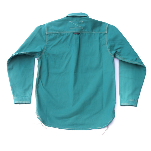 Peacock Green New England Cap Workshirt 2021
