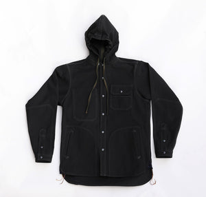 033 Work Shirt, Hooded