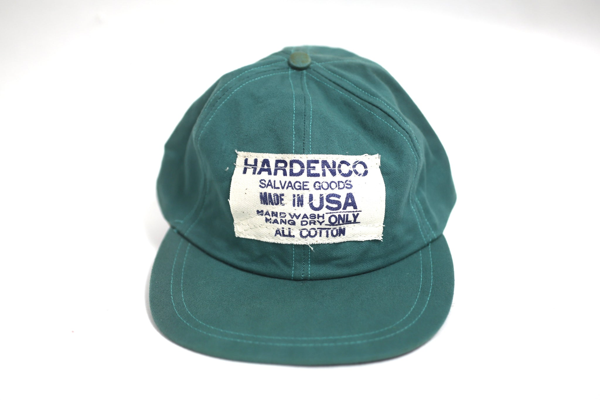 "Fitted Cotton ""Dad"" Cap"