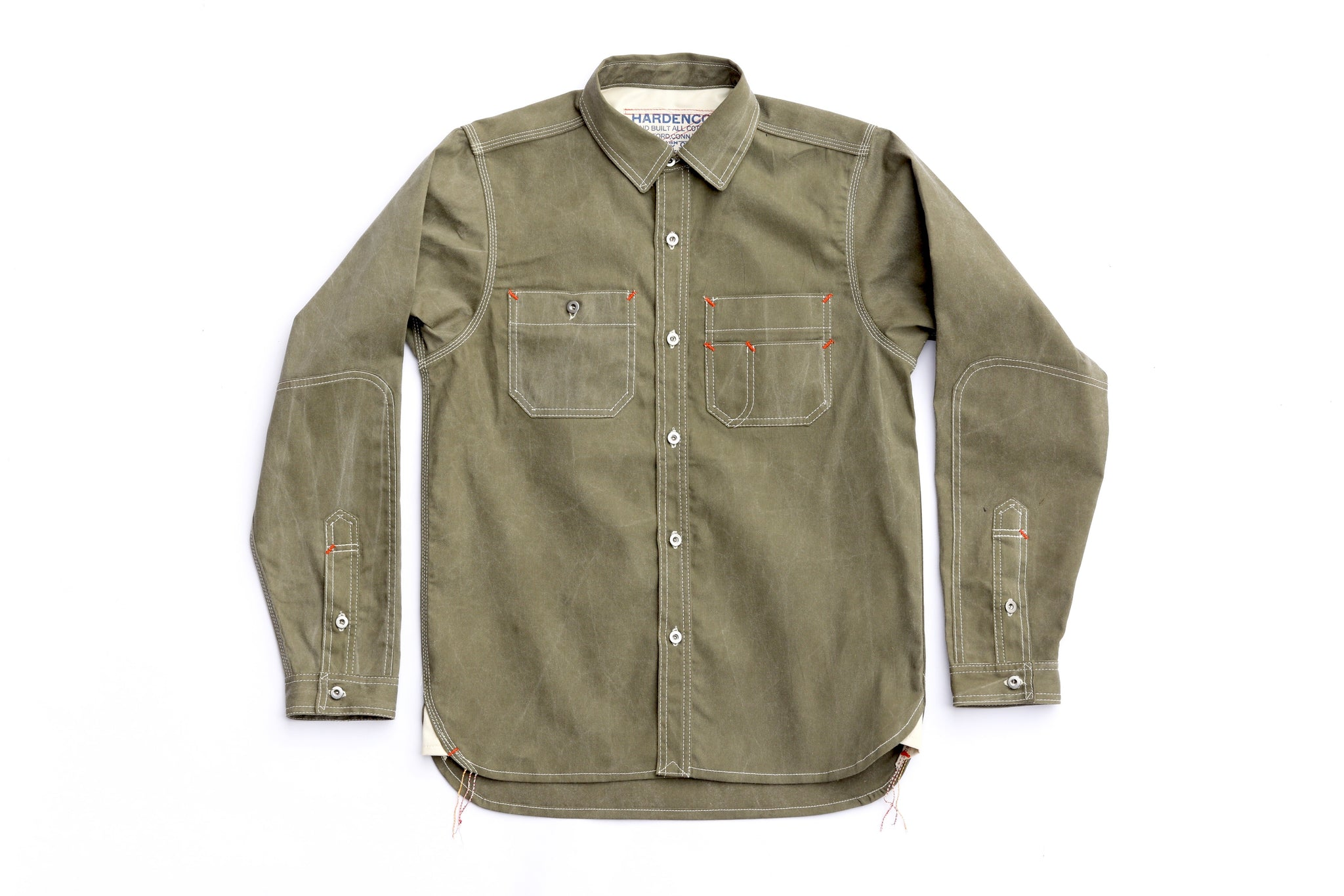 Washed Green Workshirt
