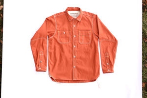 Pumpkin Orange Workshirt