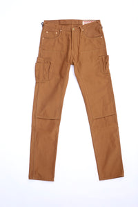 2020 010 brown duck doubleknee 12 pocket work jeans