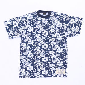 1990s flower print dead stock t shirts
