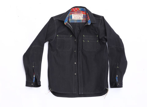 Indigo duck workshirt