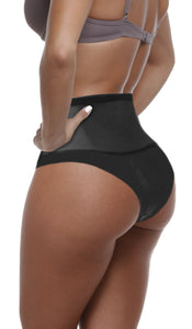 HIGH WAIST LATEX COMPRESSION SHAPER PANTS | Esbelt | Waist Shaper
