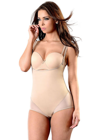 NUDE LATEX SLIMMING MIRACLE BODYSHAPER | Esbelt | Coke Bottle Cartel