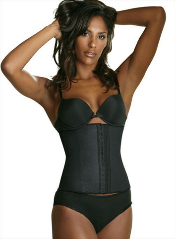 SLIMMING BLACK WAIST CINCHER | Esbelt | Coke Bottle Cartel