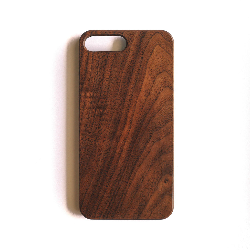 Plain Wooden iPhone 7+ Case