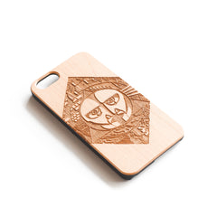 'Pink Floyd' Wood iPhone Case - SVNTY