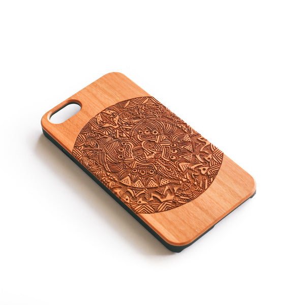 'Catlord' Wood iPhone Case - SVNTY