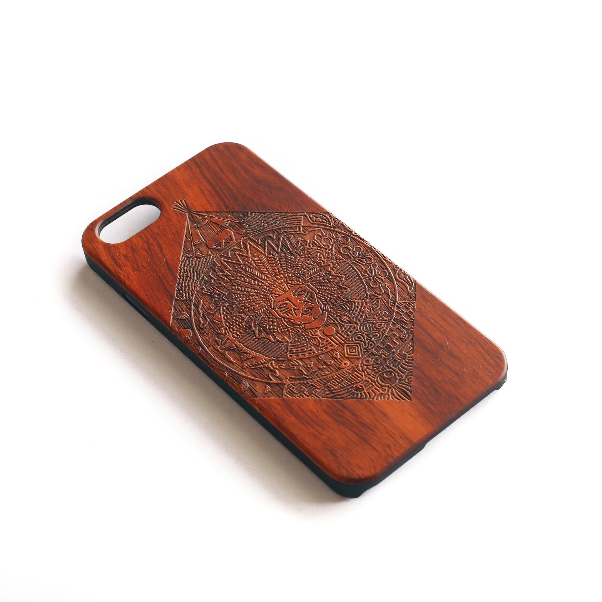 'Chief Red' iPhone Wood Case - SVNTY