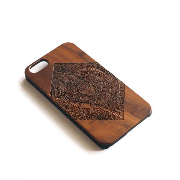 'Medusa' iPhone Wood Case - SVNTY