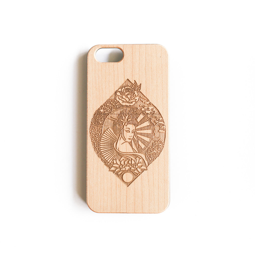 'Geisha' iPhone Wood Case - SVNTY