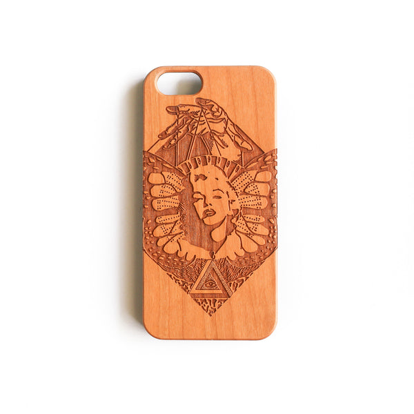 'Marilyn' iPhone Wood Case