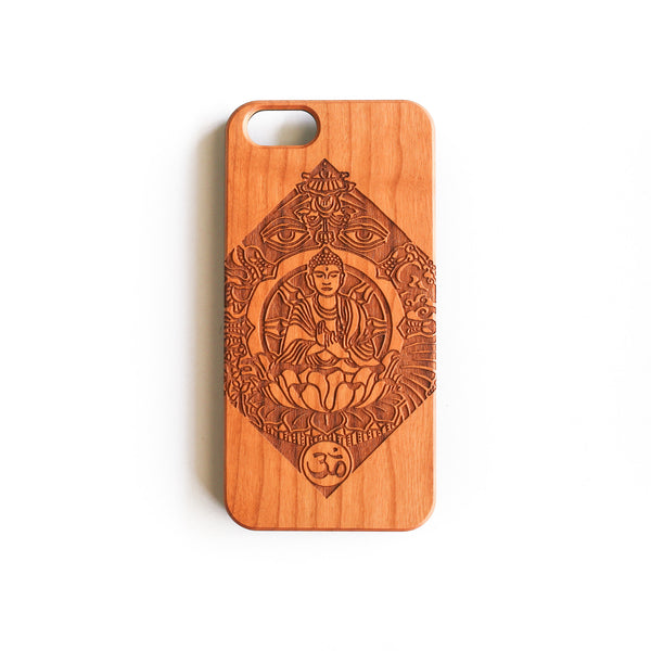 'Buddha' Wood iPhone Case - SVNTY