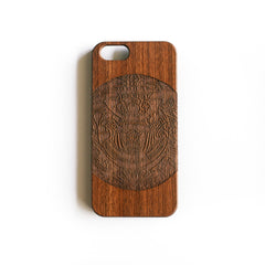 'The Masked Yakuza' iPhone Wood Case - SVNTY