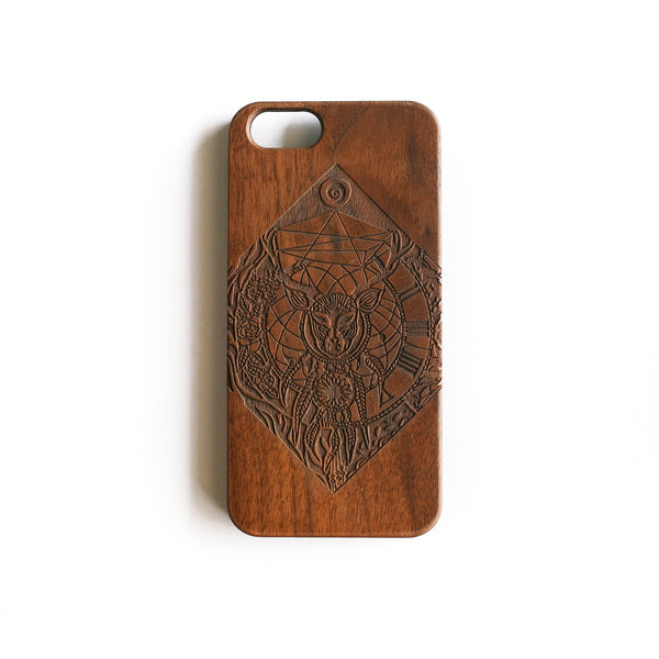 'Anothdeer Dreamcatcher' iPhone Wood Case - SVNTY