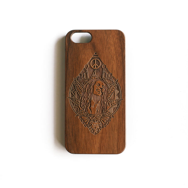 'Marley' Wood iPhone Case