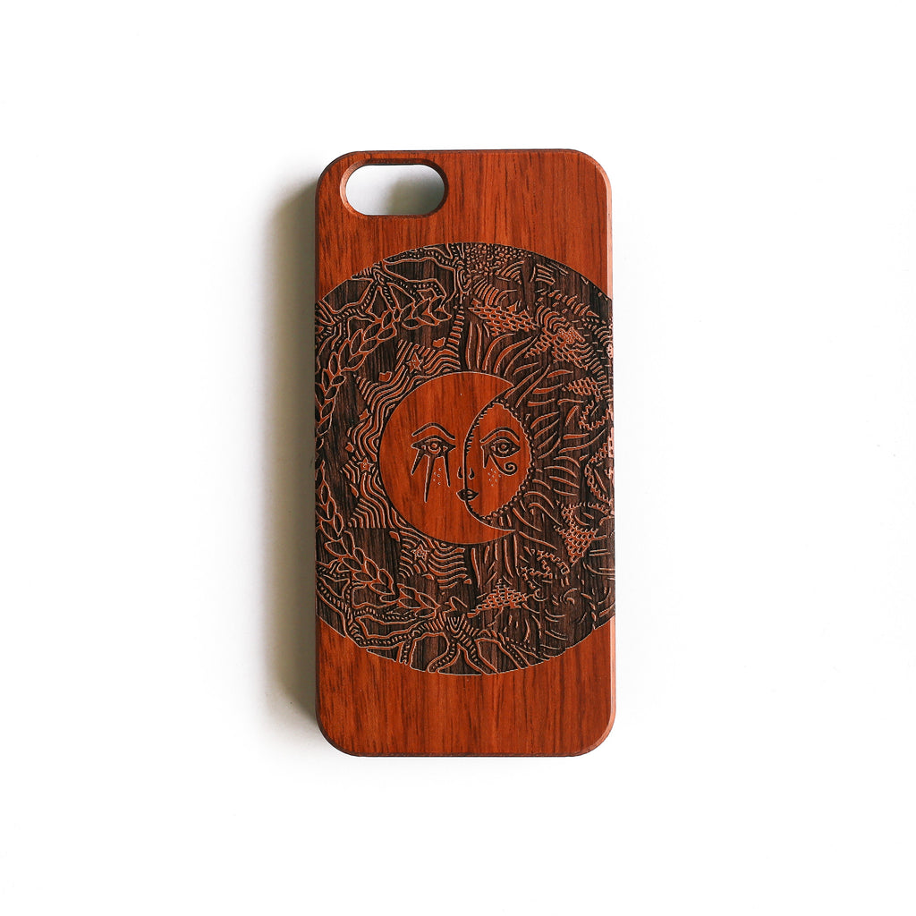 'Madame Sunnymoon' Wood iPhone Case - SVNTY