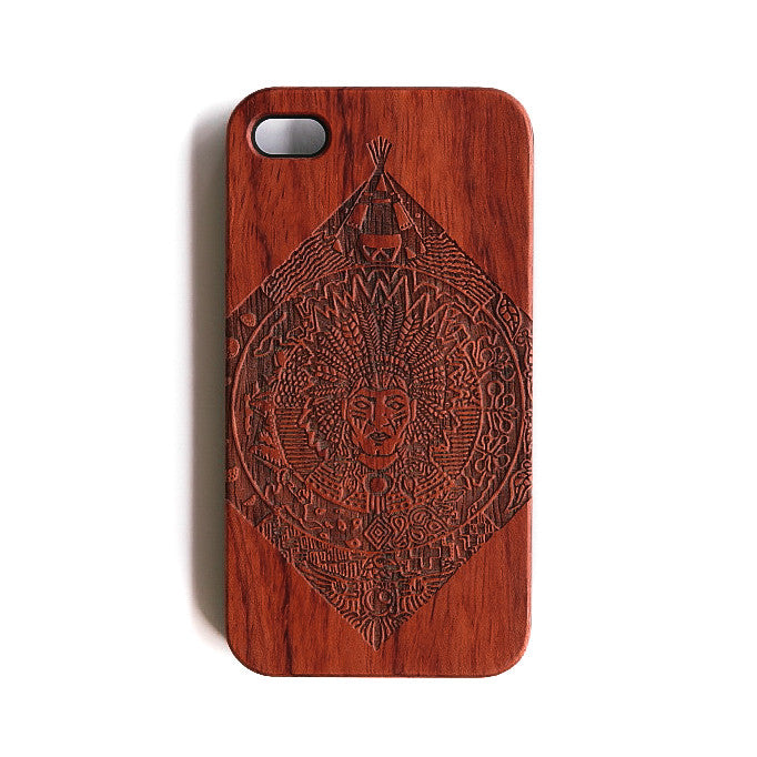 Chief Red iPhone 4 Case - SVNTY