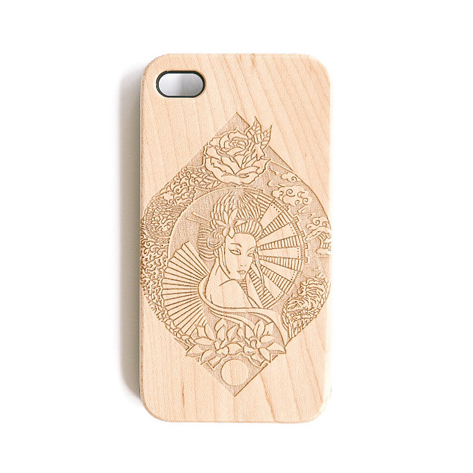 Flower Geisha iPhone 4 Case - SVNTY