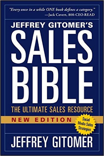 Sales Bible The Ultimate Sales Resource