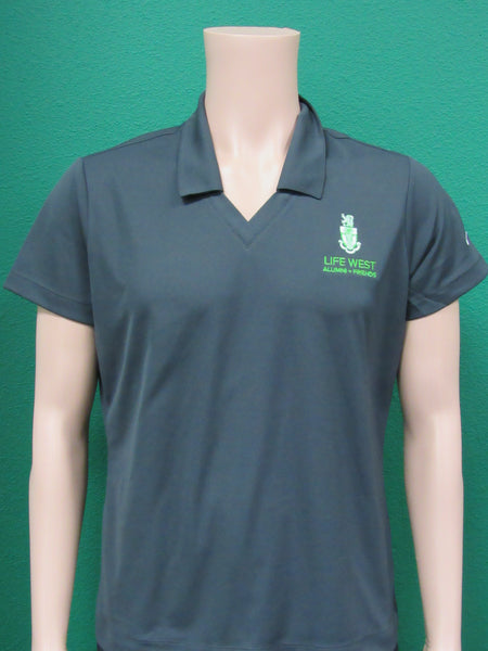 LCCW Alumni Polo Women's Charcoal