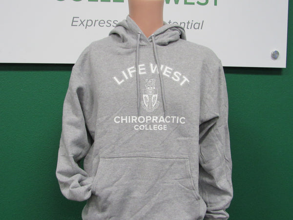 Life West Charcoal Gray Hoodie