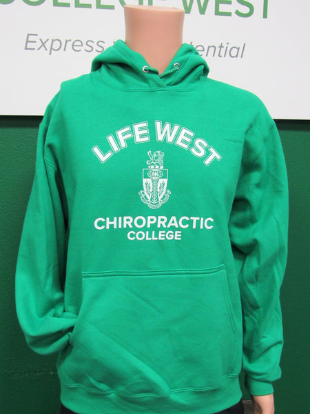 Life West Light Green Hoodie