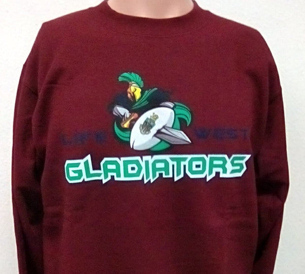 Life West Gladiator Rugby Sweatshirt