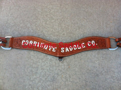 #01 Corriente Breast Collar Wild Rose - Corriente Saddle