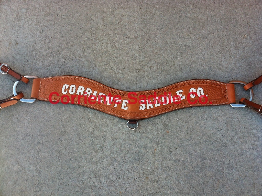 #02 Corriente Breast Collar Basket - Corriente Saddle