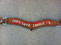 #03 Corriente Breast Collar Roughout RWT - Corriente Saddle