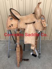 Add A Brand on Your Saddle per Side - Corriente Saddle