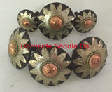 CBCONCH 109 Starburst Conchos - Corriente Saddle
