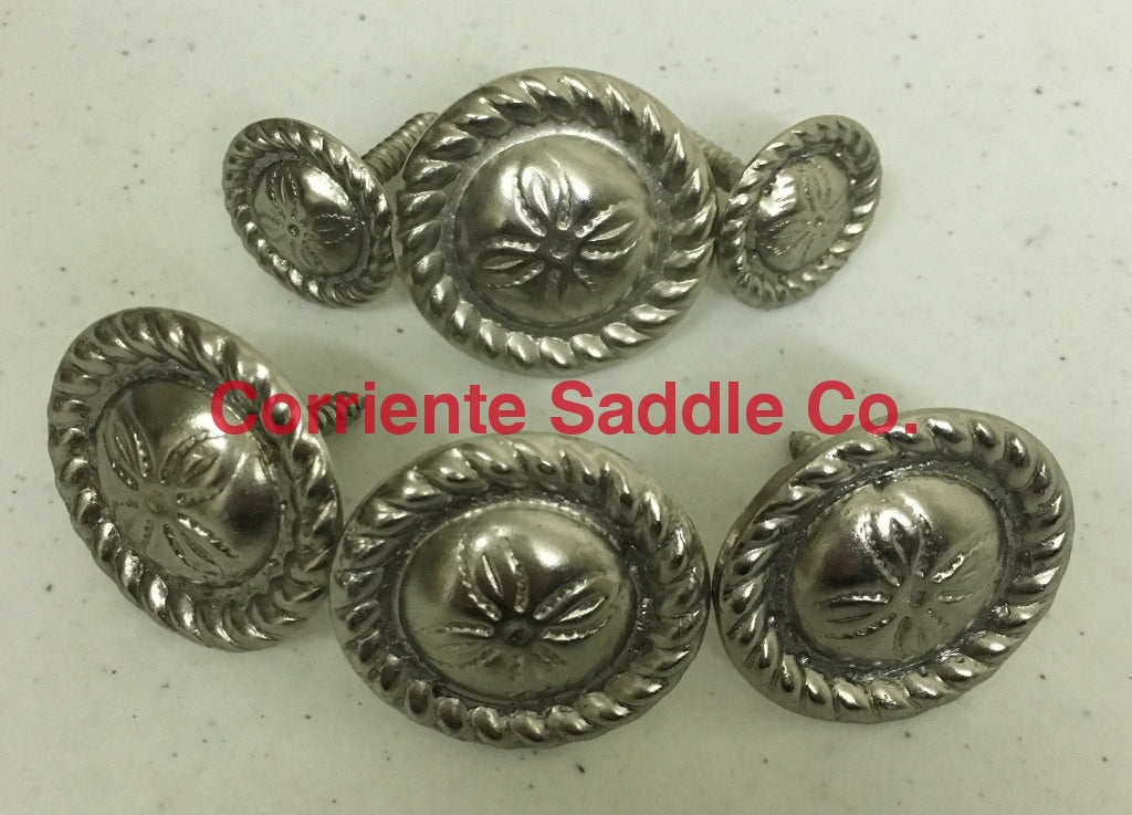 CBCONCH 131Z Silver Conchos - Corriente Saddle