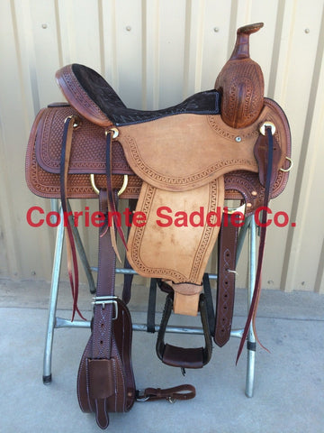 CSA 312 Corriente Association Ranch Saddle