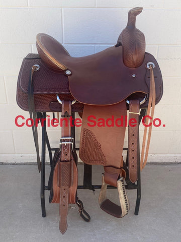 CSA 313 Corriente Association Ranch Saddle