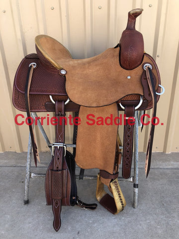 CSA 314 Corriente Association Ranch Saddle