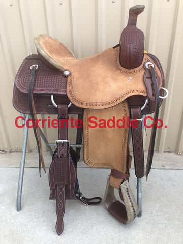 CSA 316 Corriente Association Ranch Saddle