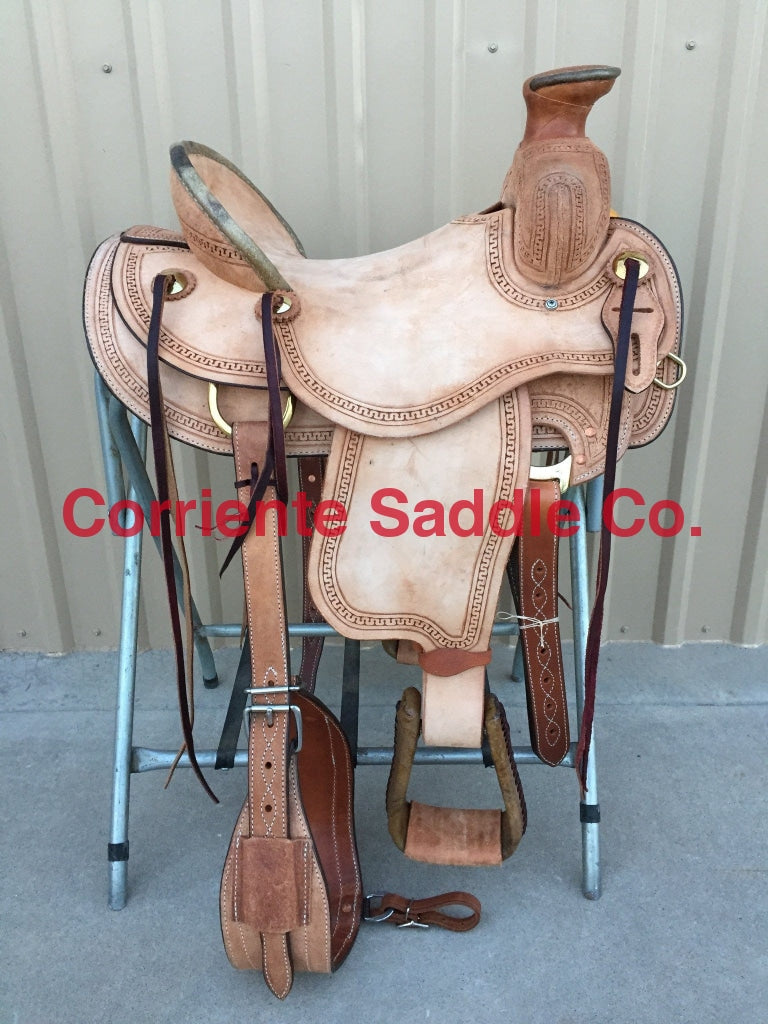 CSA 341A Corriente Association Ranch Saddle - Corriente Saddle
