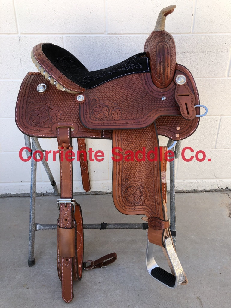 CSB 502 Corriente Barrel Saddle - Corriente Saddle