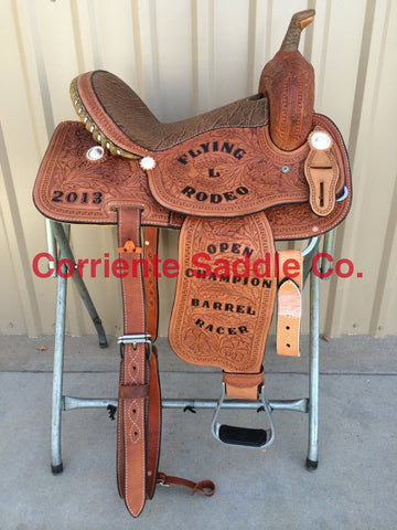 CSB 504 Corriente Barrel Saddle